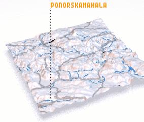 3d view of Ponorska Mahala
