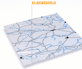 3d view of Klakar Donji