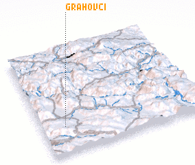 3d view of Grahovci