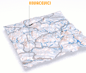 3d view of Kovačevići