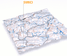 3d view of Šumići