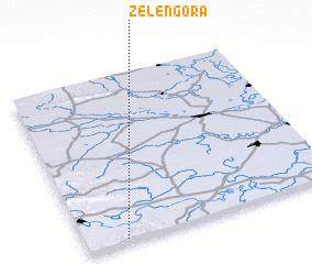 3d view of Zelengora
