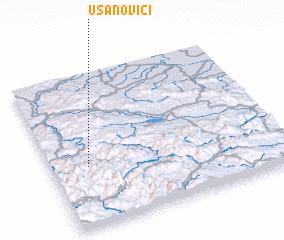 3d view of Usanovići