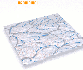 3d view of Habibovići