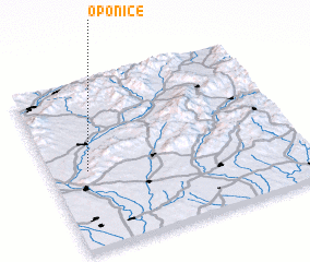 3d view of Oponice