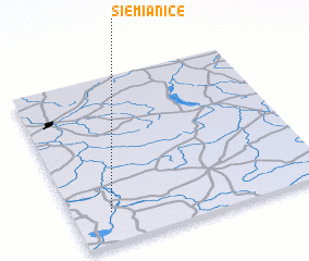 3d view of Siemianice