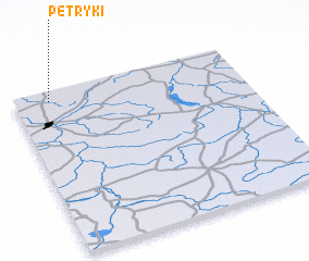 3d view of Petryki