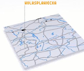 3d view of Wola Spławiecka