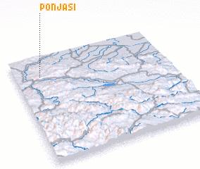 3d view of Ponjaši