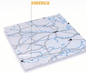 3d view of Korenica