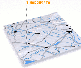 3d view of Timárpuszta