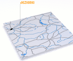 3d view of Jeziorki