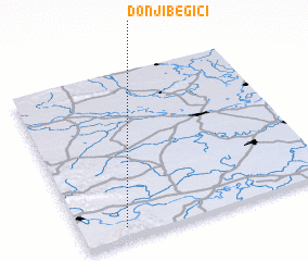 3d view of Donji Begići