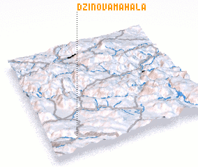 3d view of Džinova Mahala
