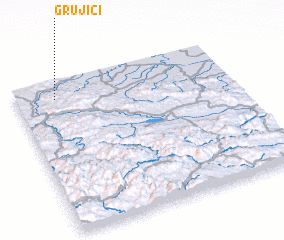 3d view of Grujiči