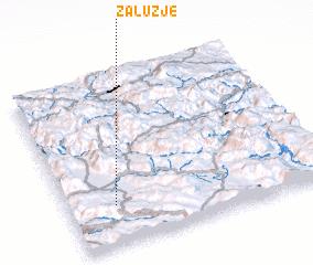 3d view of Zalužje