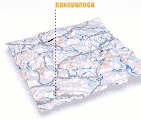 3d view of Rakova Noga