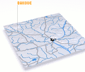 3d view of Bakoué