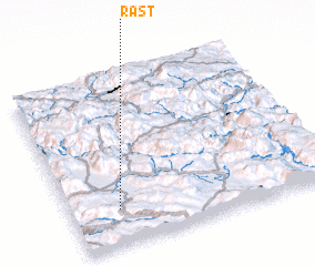 3d view of Rast