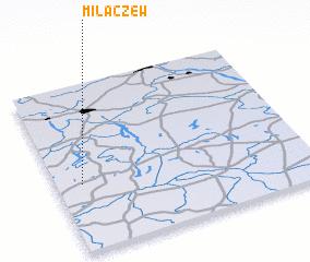 3d view of Miłaczew