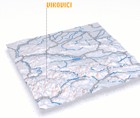 3d view of Vikovići