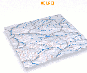 3d view of Oblaci