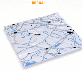 3d view of Bodajk