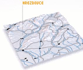 3d view of Hrežďovce