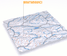 3d view of Bratanovići