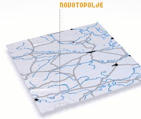 3d view of Novo Topolje