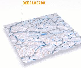 3d view of Debelo Brdo