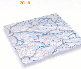 3d view of Želin