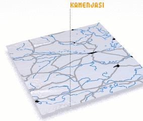 3d view of Kamenjaši