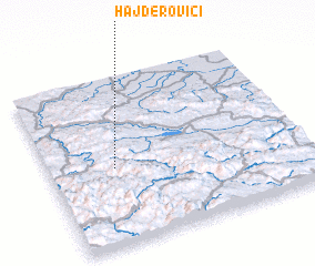 3d view of Hajderovići
