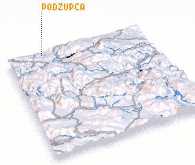 3d view of Podžupca