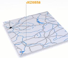 3d view of Jeziorna