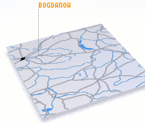 3d view of Bogdanów