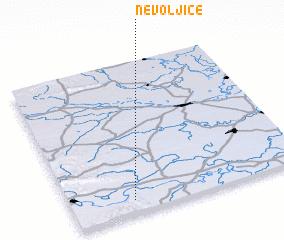 3d view of Nevoljice