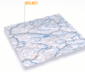 3d view of Golaći