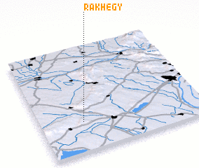 3d view of Rákhegy