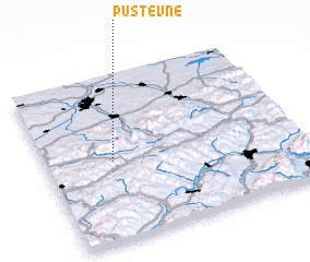 3d view of Pustevně