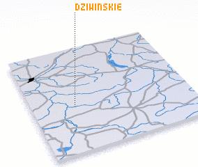 3d view of Dziwińskie