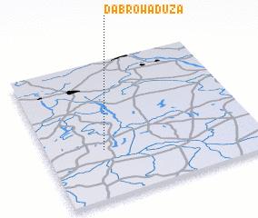 3d view of Dąbrowa Duża
