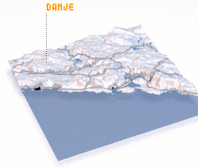 3d view of Damje