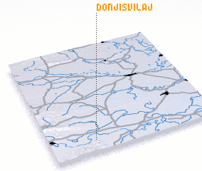 3d view of Donji Svilaj
