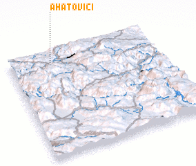 3d view of Ahatovići