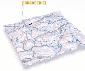 3d view of Dobroševići