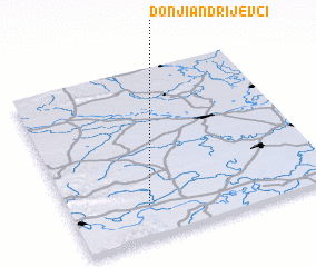 3d view of Donji Andrijevci