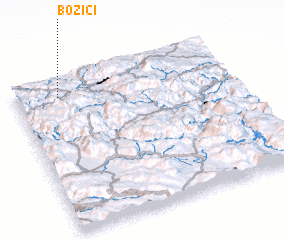3d view of Božići