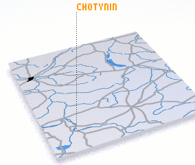 3d view of Chotynin